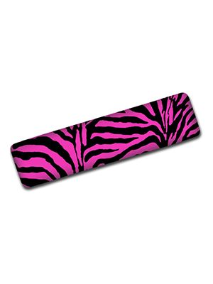 Pink Zebra Hand Brake Cover