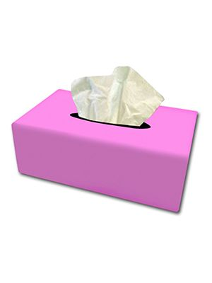 Cute Pink Tissue Box Cover