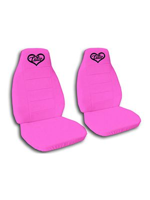 Hot Pink Cutie Car Seat Covers