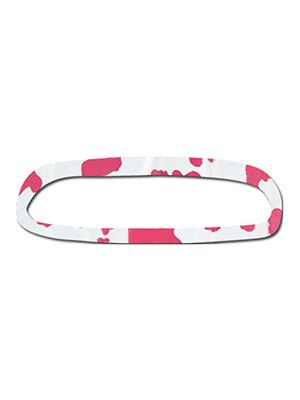 Pink and White Cow Rear View Mirror Cover