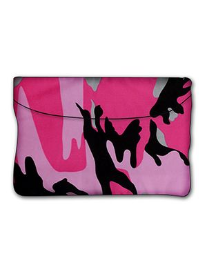 Pink Camouflage Car Trash Bag