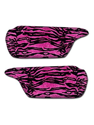 Pink Tiger Sun Visor Covers