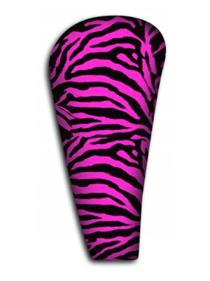 Pink Zebra Shift Knob Cover