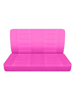 Hot Pink Bench Seat Covers