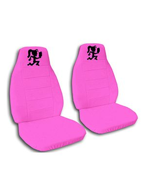 Hot Pink Hatchet Girl Car Seat Covers