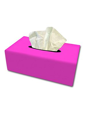 Hot Pink Tissue Box Cover