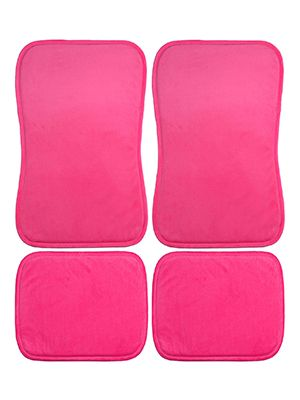Hot Pink Car Floor Mats