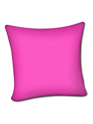 Hot Pink Pillow Cover