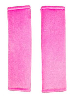 Hot Pink Seat Belt Covers
