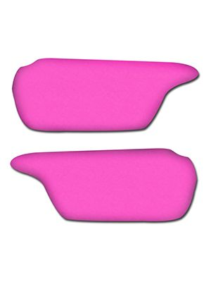 Hot Pink Sun Visor Covers