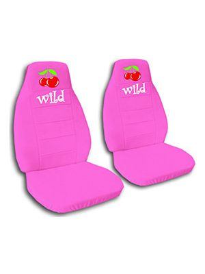 Hot Pink Wild Cherry Car Seat Covers