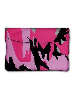Pink Camouflage Car Trash Bag