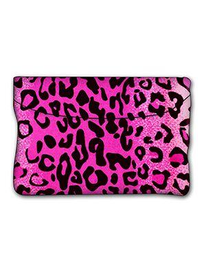 Pink Leopard Car Trash Bag