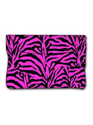 Pink Zebra Car Trash Bag